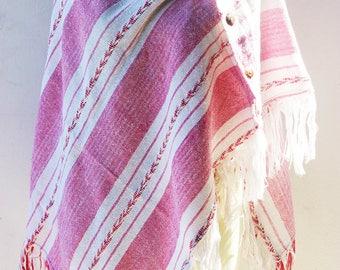 Colorful Shawl, Handwoven Shawl, Handwoven Wrap, Handwoven Scarf, Shawl, Scarf, Wrap, Weaving, Ikat pattern fabric(V59)