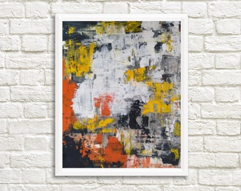 Original Abstract Painting, Small Abstract Painting, Large Abstract Painting, Abstract Painting, Made to Order, FREE SHIPPING