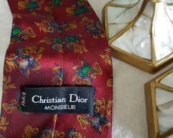 Christian DIOR monsieur PARIS tie