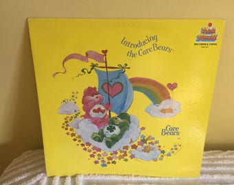 Introducing the Care Bears Vinyl Record album GREAT CONDITION