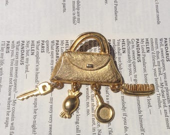 Purse Brooch