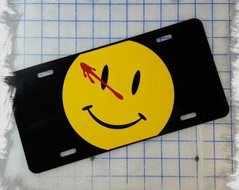 Watchmen Custom License Plate