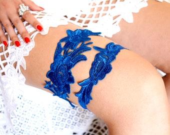 Something Blue, Wedding Garter, Bridal Garter, Lace Garter, Keepsake Garter, Toss Garter, Keepsake  Garter, Garter Set, Blue Garter, Garters