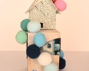 Pompom House Blue