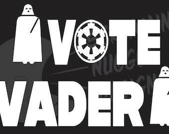 Vote Vader Decal