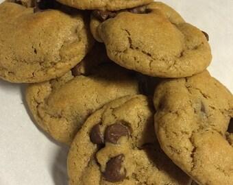 Half Dozen Chocolate Chip Cookies