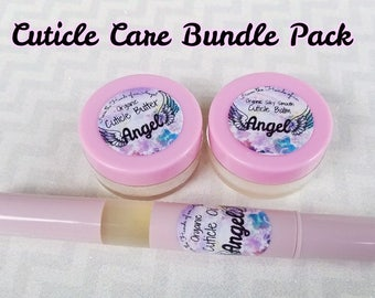 Cuticle Care Bundle Pack (Please pick your scent/scents & leave it in the notes)