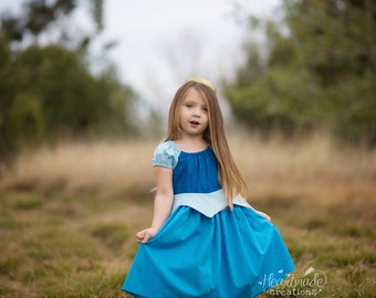 Aurora - Everyday Princess Dress - Sleeping Beauty - Size 1 through 8