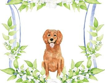 Custom Watercolor Wedding Crest | Hand Painted Crest for Invitations, Stationery, Digital, Print | Monogram | Heraldry