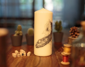 Candles: 20 cm - choose the candle of your choice