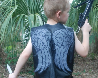 Daryl inspired cosplay vest