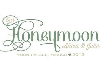 Honeymoon Sign