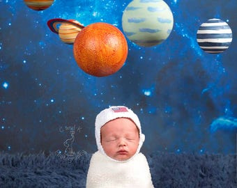Space Digital Backdrop, Newborn Digital Backdrop