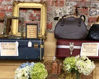 Vintage Suitcase Ledges / Suitcase Shelf / Large Suitcase Ledges / Suitcase Backs