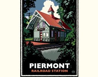 Landmark NY | Piermont Train Station by Mark Herman