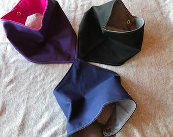 Multi color bandana bibs