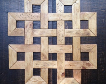 Celtic Knot Wood Wall Decor
