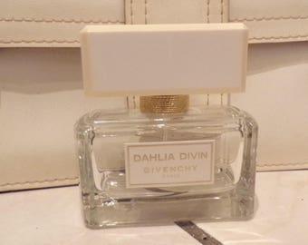 Bottle perfume bottle empty Dahlia Divin Givenchy Paris