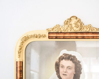 antique picture frames, antique framed photos, antique wood frames, vintage picture frames w/ original photos, matching pair available