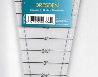 Easy Dresden Template Ruler by Darlene Zimmerman for EZ Quilting