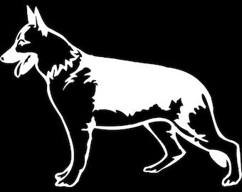 German Shepherd Vinyl Decal - German Shepherd Decal