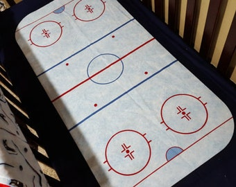 Hockey Rink Crib Sheet