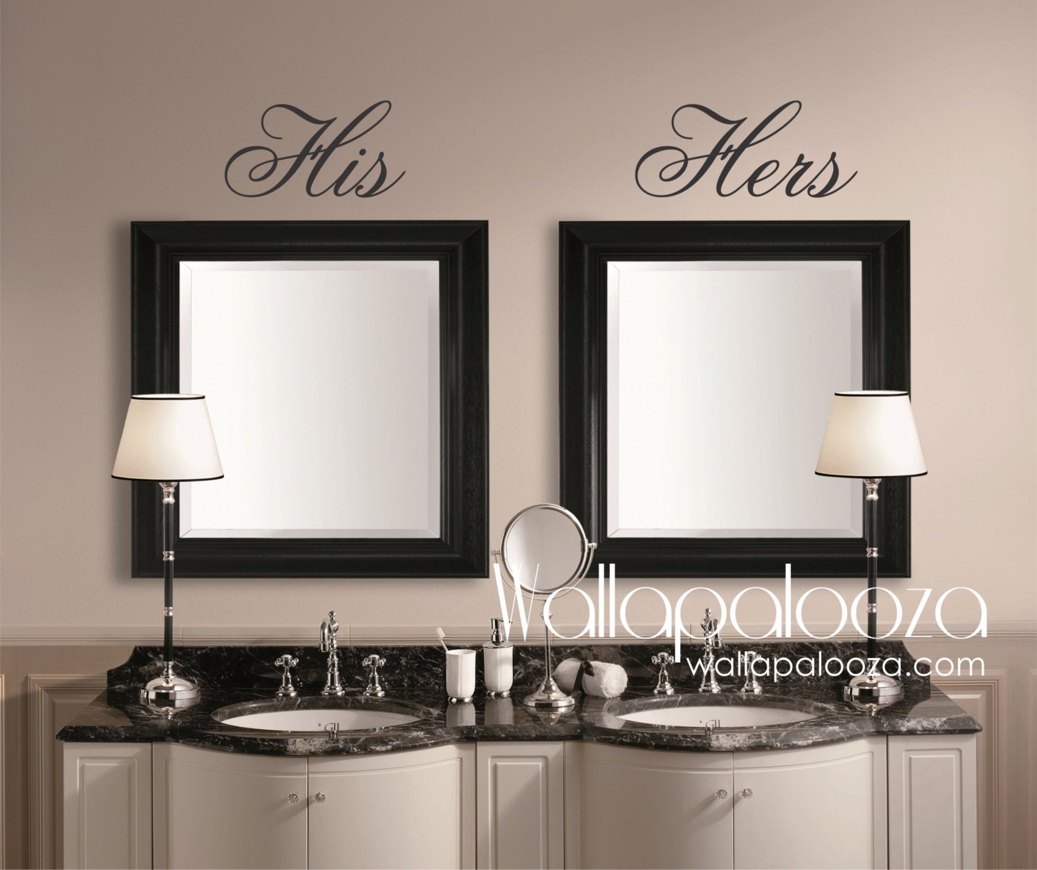 zoom - His And Hers Bedroom Decor