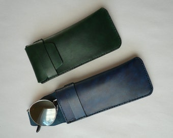 Leather Eyeglass Case 01