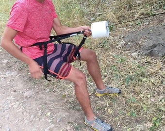 Lightweight backpacking toilet by TreeHugger Toilet For Camping, Hiking, Backpacking, or Hunting.