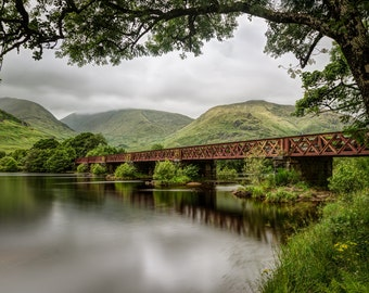 "Fine Art Photography, Scotland - ""Kilchurn Railway Bridge"""