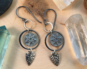 Seven Star Talisman Earrings