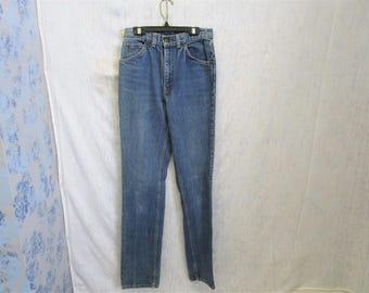 "80s 27"" x 33"" GWG Jeans Denim Blue"
