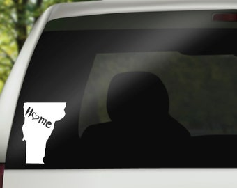 Vermont Decal, State Decal, Home Decal, Vermont Car Decal, Laptop Decal, Tumbler Decal, Home Car Decal, Vinyl Decal, Water Bottle Decal