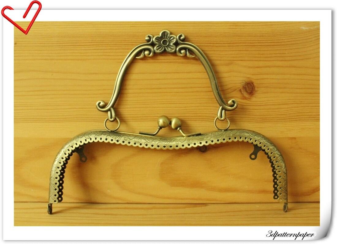 Purse frame 8 inch Anti bronze purse frames Bag frames with handle (purse frame wholesale) K74