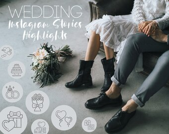 20 Grey and Silver Glitter Wedding Instagram Stories Highlights Icons - Boho Wedding Planner, Wedding Photography, Cute Insta Story Cover