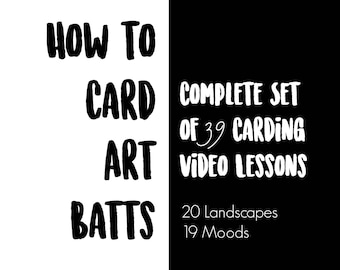 39 HD Videos for CARDING Moods & Landscapes - Masterclass Collection