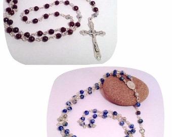 Gemstone rosary