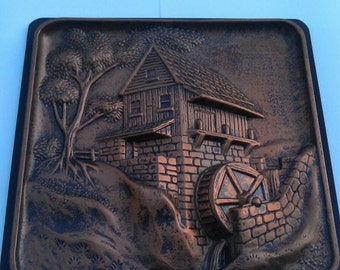 Grist Mill Home Decorator Wall Plaque