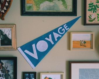 Voyage Felt Pennant