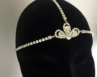 Great Gatsby 1920s headband - Flapper Headband -1920s Art deco style flapper - Great Gatsby headpiece - Wedding Headband - circlet