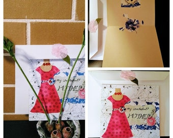 Beautiful Pop-Up Handmade Greeting Cards that can be as a Gift Itself