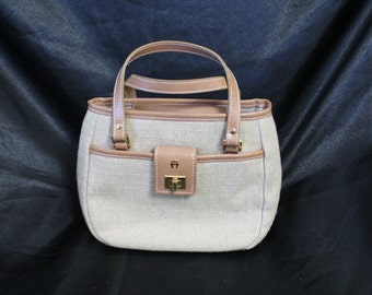 Small Tan Purse by Etienne Aigner