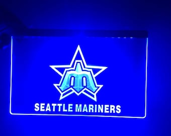 Seattle Mariners Acrylic Sign