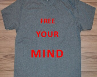 Free Your Mind Men's Crew Neck T-Shirt