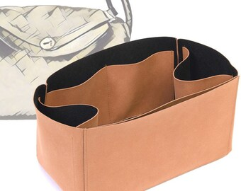 Regular Style Nubuck Leather Handbag Organizer for Lindy 30 and Lindy 34 Bags