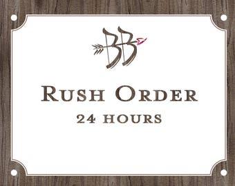 For Rush Order