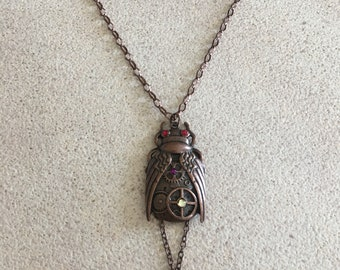 Bug Steampunk Necklace