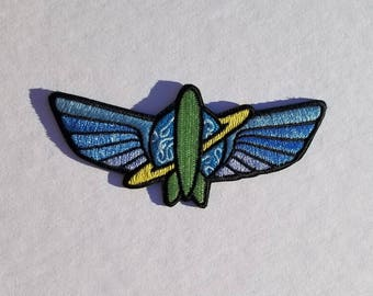 Astroblasters Inspired Patch
