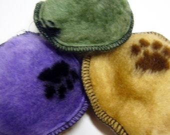 Doodlebug Dud's Turtle Squeak Toys - Six for Five Dollars-Fur Variety