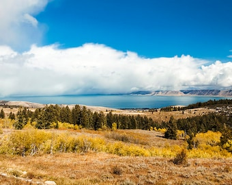 Bear Lake Fall View-  Landscape Utah Photography 20x40